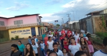 Festejo em homenagem a La Salle em Zé Doca/MA