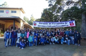 1ª etapa do curso de Líderes Lassalistas no Chile