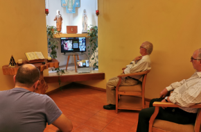 Encontro Vocacional na Comunidade San Gregorio