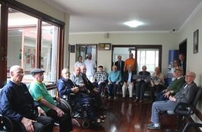 Casa de Saúde recebe visita do Irmão Superior Geral